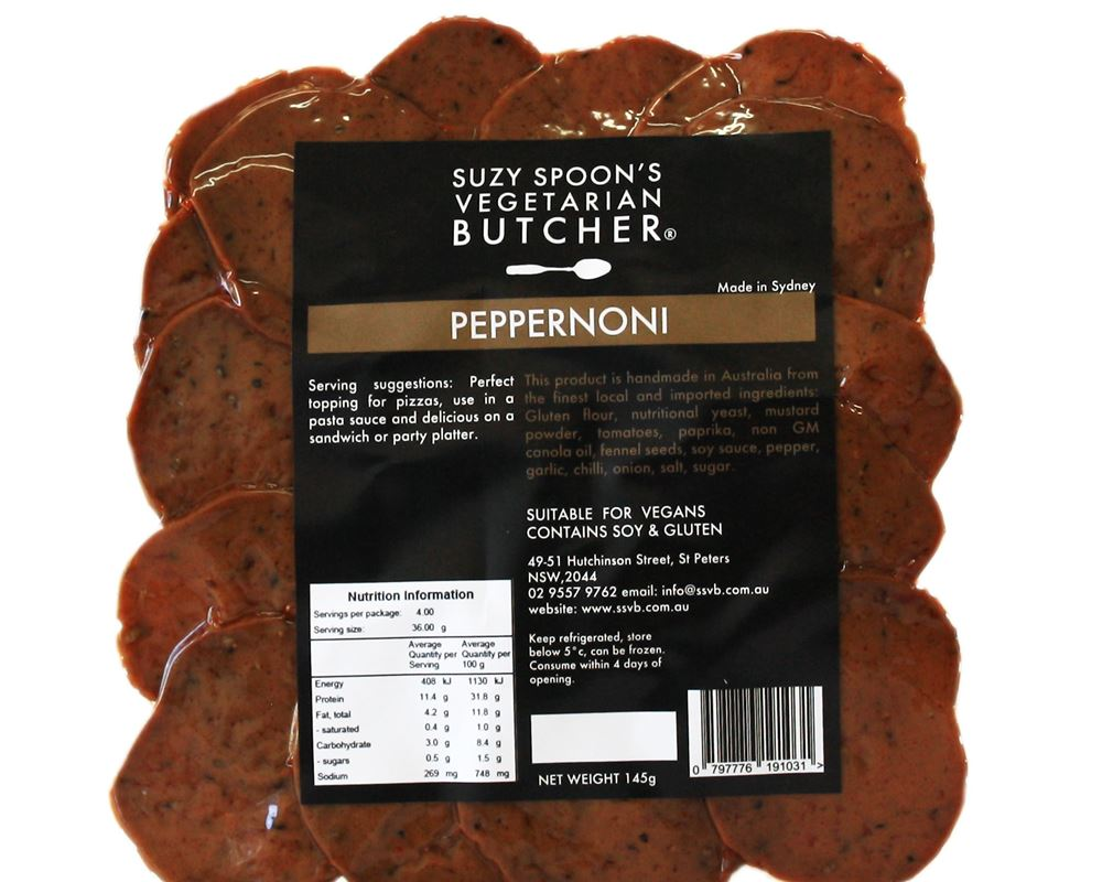 Pepperoni Plant Based (Esky Required) - SS