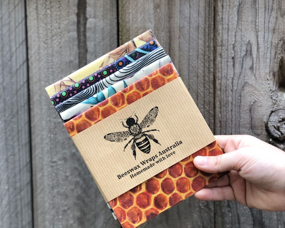 Beeswax Wrap: Lunch & Snack Pack - BA