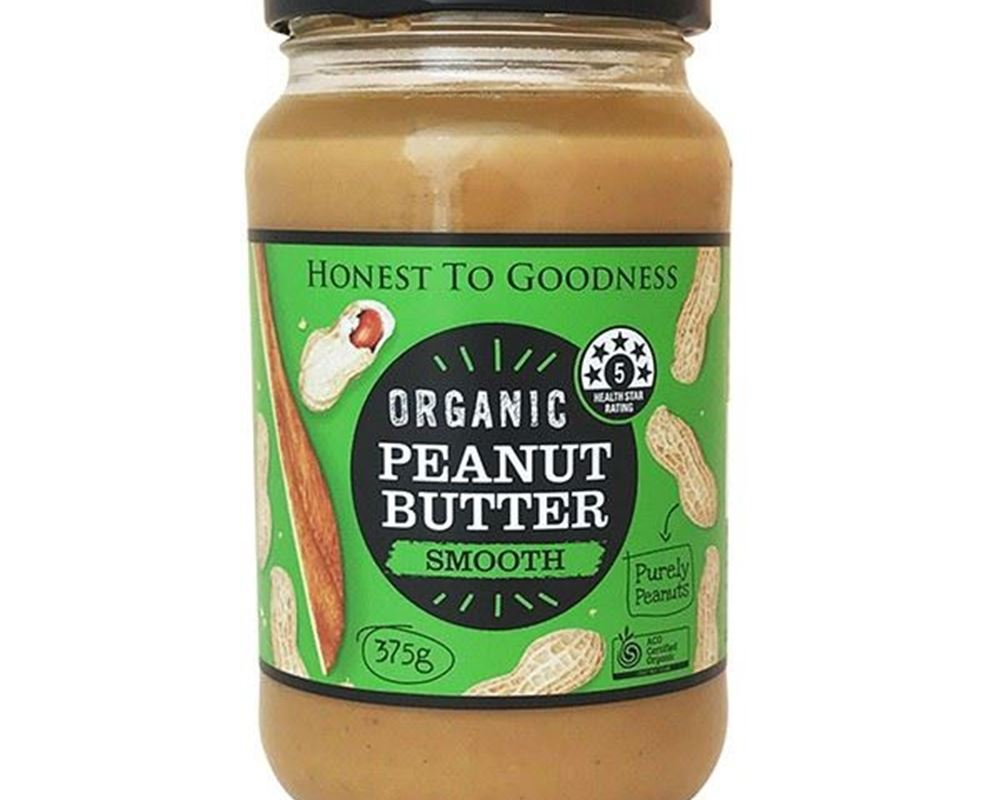 Peanut Butter Organic: Smooth - HG