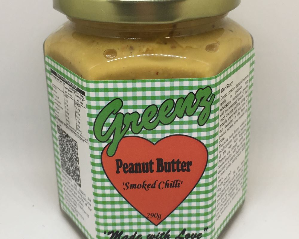 Greenz - Peanut Butter - Smoked Chilli
