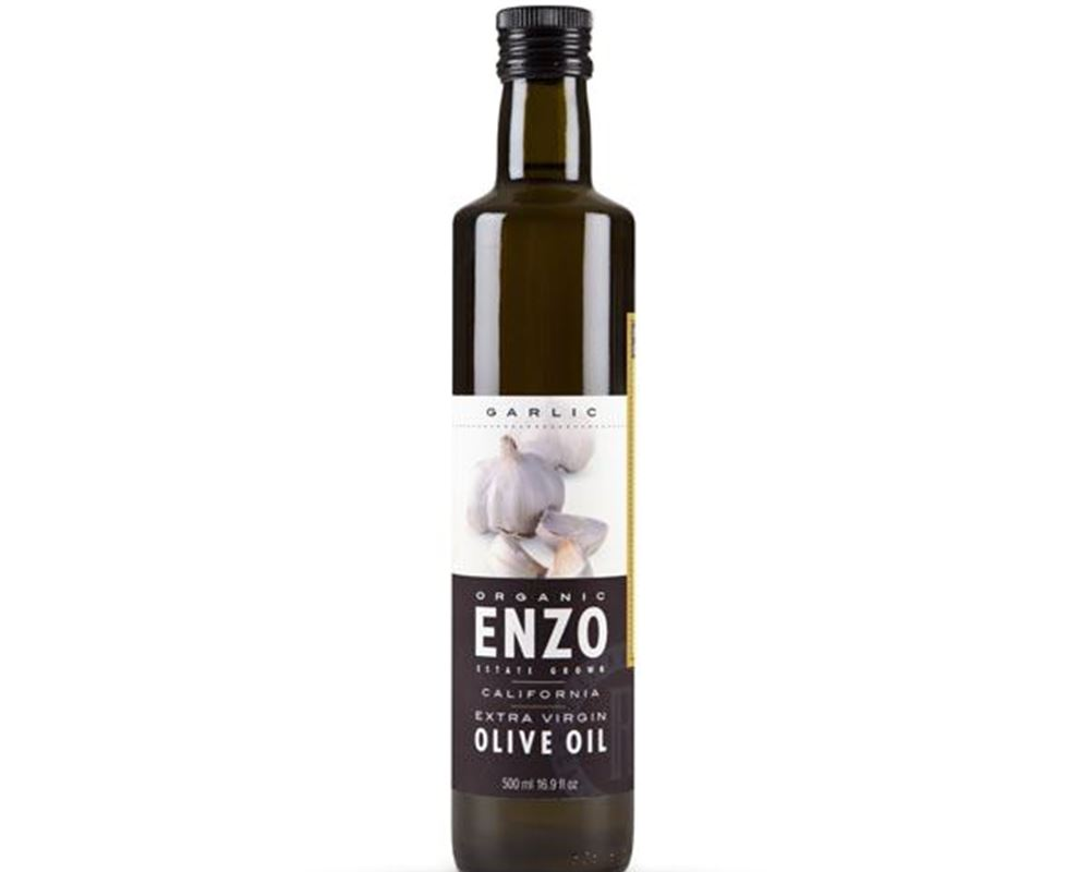 ENZO Extra Virgin Olive Oil - Garlic