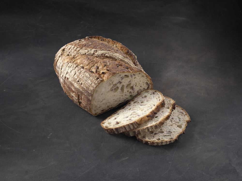 Bread: Beer & Barley Sourdough Batard Sliced - BB