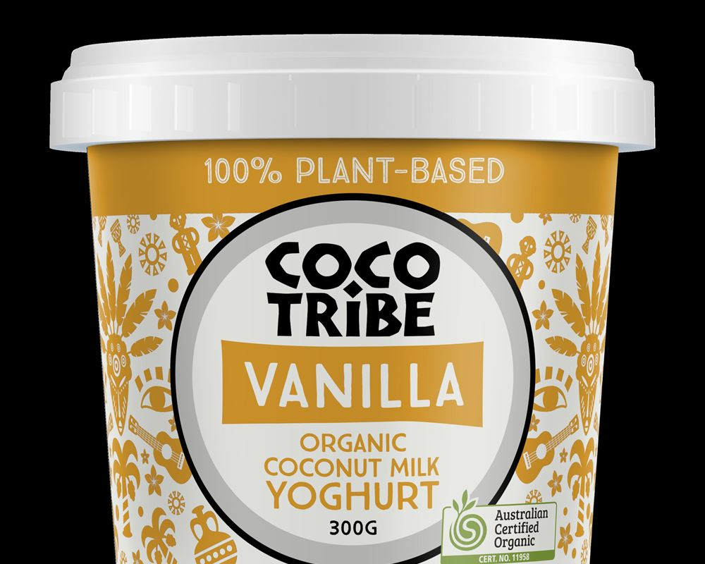 Yoghurt (Plant Based): Coconut Vanilla Bean - CT (Esky Required)