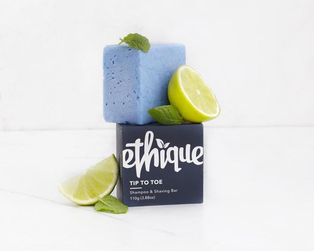 Ethique - Tip To Toe Shampoo & Shaving Bar