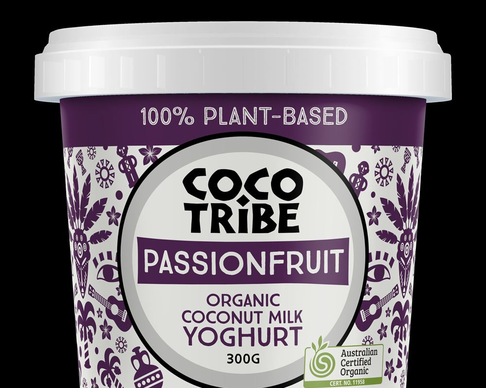 Yoghurt (Plant Based): Coconut Passionfruit - CT (Esky Required)