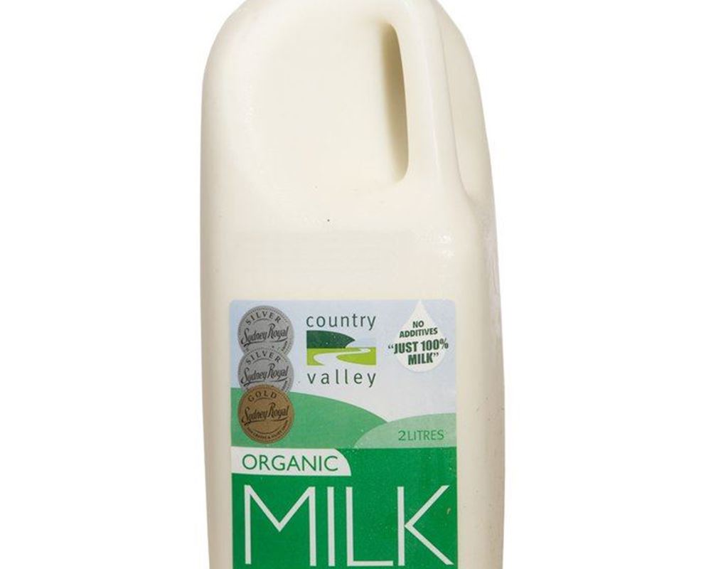 Milk Organic: Full Cream - CV (Esky Required)