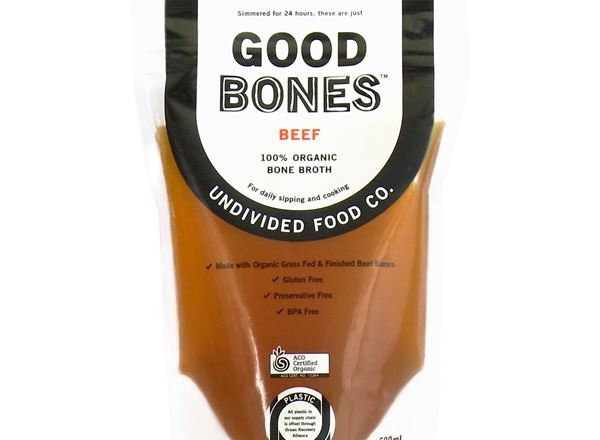 Broth Organic: GOOD Bones Beef