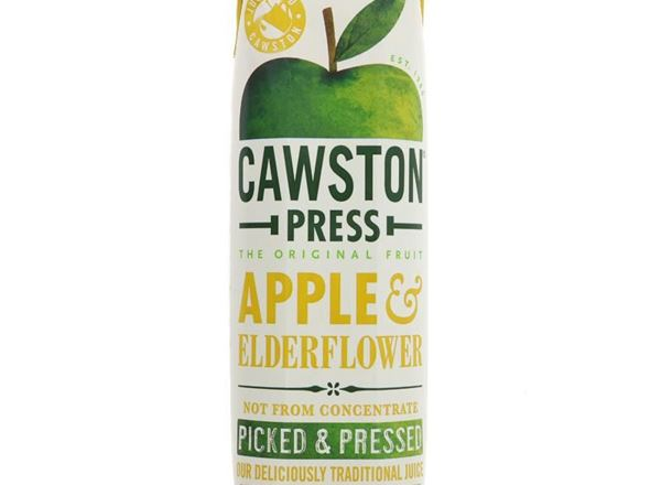 Apple & Elderflower Juice: Cawston Press