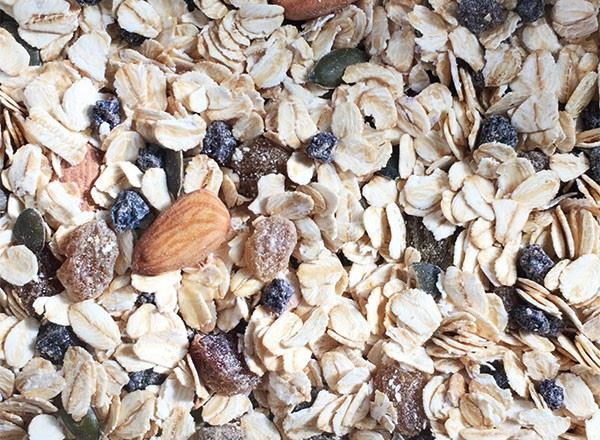 Muesli Organic: 38% Fruit-Nut-Seeds - HG