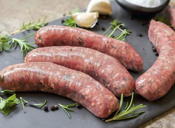 Beef Herb and Garlic Sausages 500g