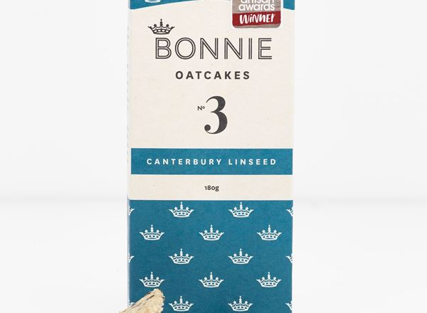 Bonnie Oatcakes - Canterbury Linseed