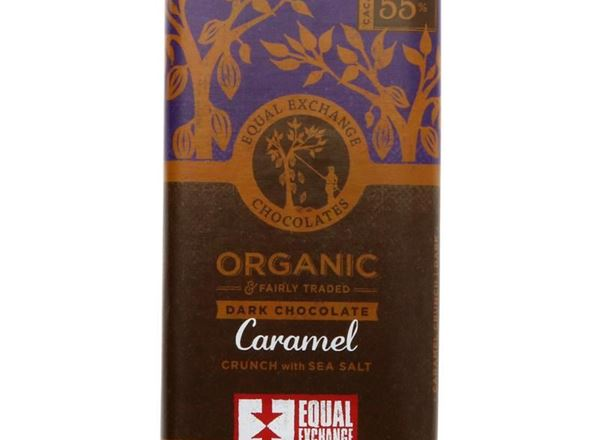 Chocolate: 55% Dark Chocolate Caramel Crunch & Sea Salt