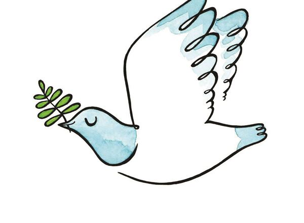Greeting Card - Peace Kereru