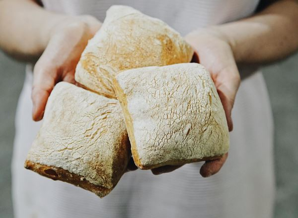 Bread Natural: Ciabatta Rolls: Mini - BF