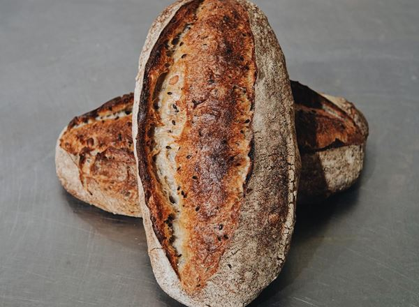Bread Natural: Soy & Linseed Sourdough: Small - BF