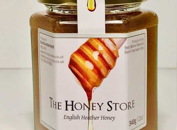 English Heather Blend Honey (340g)