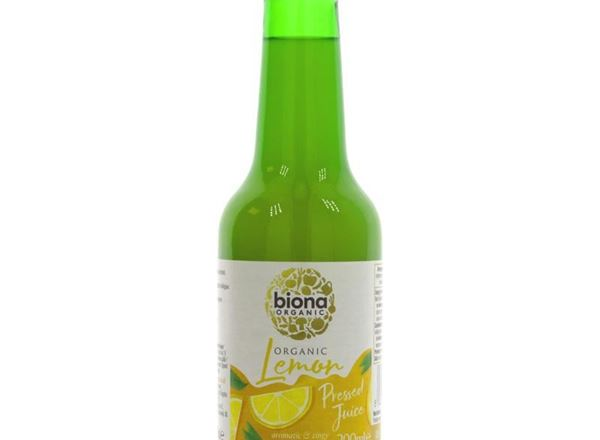 Lemon Juice: Organic (Biona)