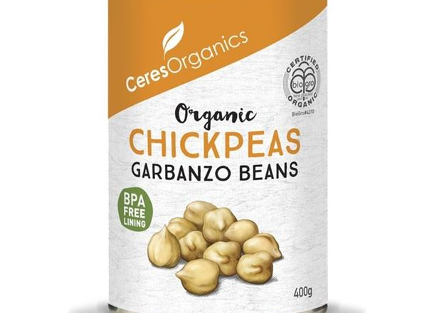 Ceres Organics - Chickpeas, canned