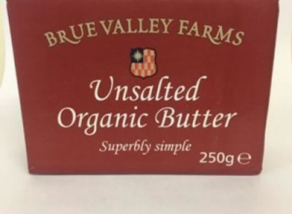 Butter - Brue Valley (Unsalted) Organic