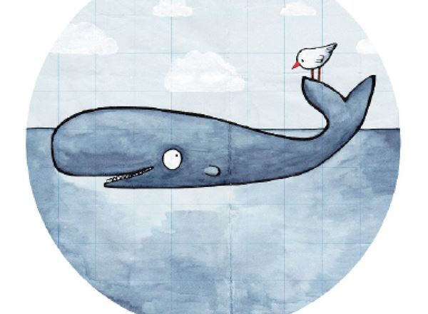 Greeting Card - Whale of a time...