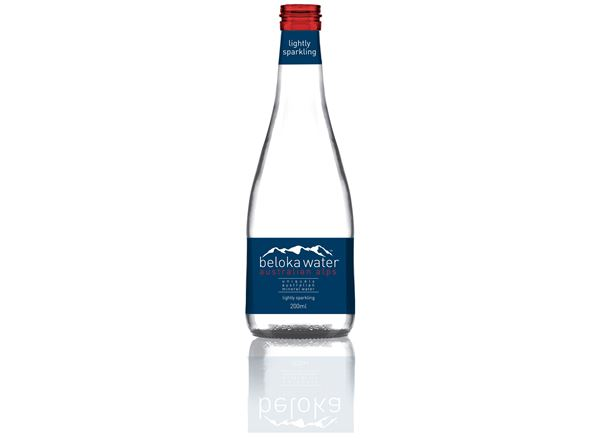 Water: Lightly Sparkling (200ml) - BW