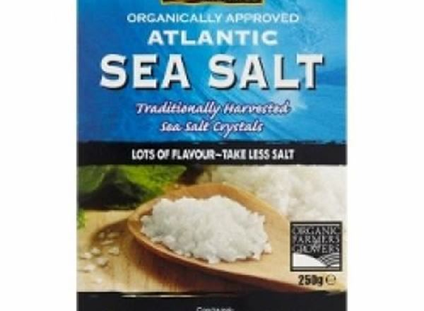 Atlantic Sea Salt - Organically Approved Organic
