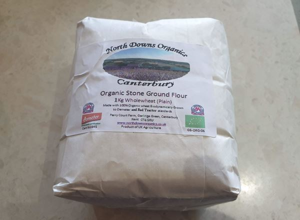 Flour- Organic Stone Ground Wholewheat