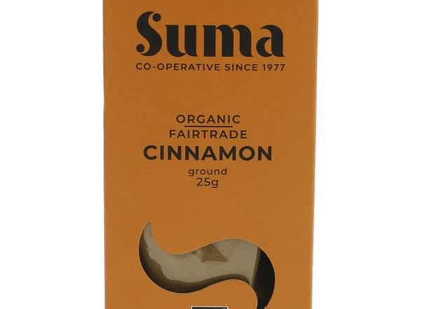 Cinnamon, Ground: Organic & Fair Trade (SUMA)