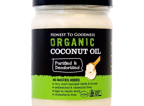 Oil Organic: Coconut Purified/Deodorised - HG