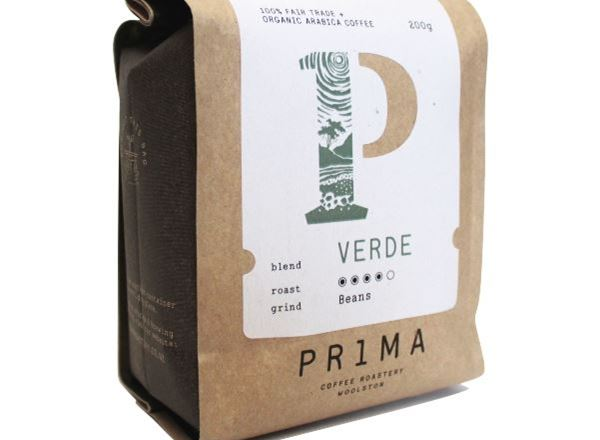 Fairtrade Organic VERDE Coffee - Beans
