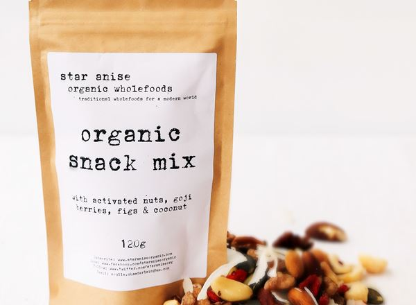 Organic Snack Mix: Activated