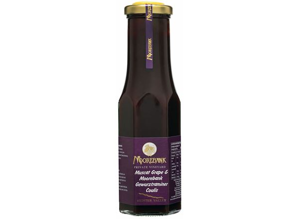 Muscat Grape & Gewuerztraminer Coulis - Dessert Topping