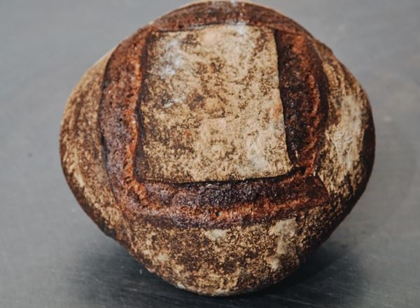 Bread Natural: Wholemeal Sourdough: Round - BF
