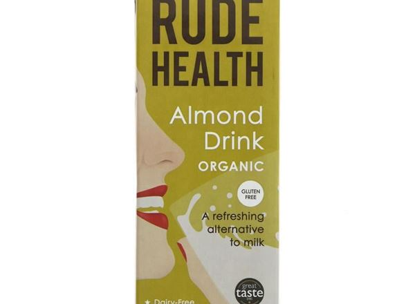 Almond Milk: Organic (Rude Health)