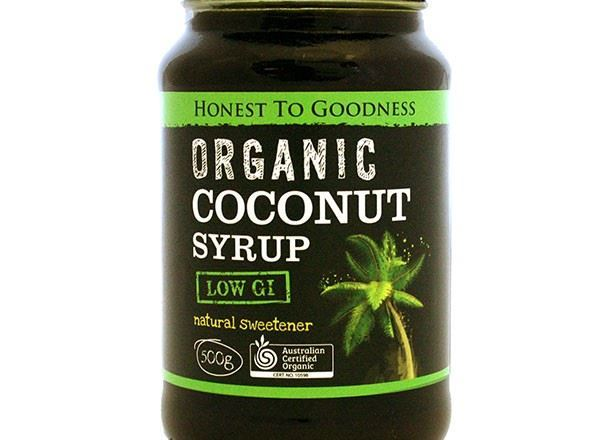 Syrup Organic: Coconut  - HG