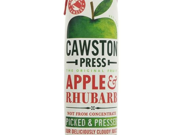 Apple & Rhubarb Juice: Cawston Press