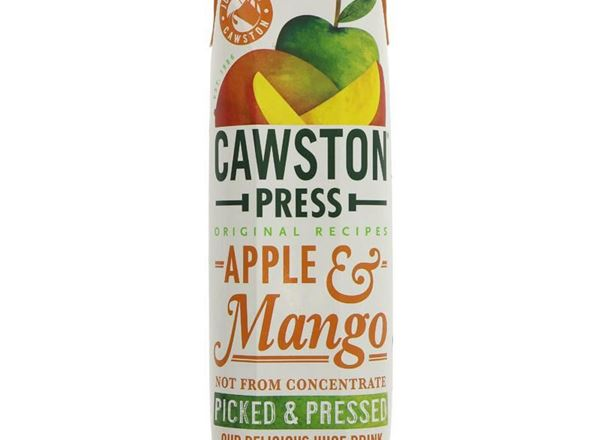 Apple & Mango Juice: Cawston Press