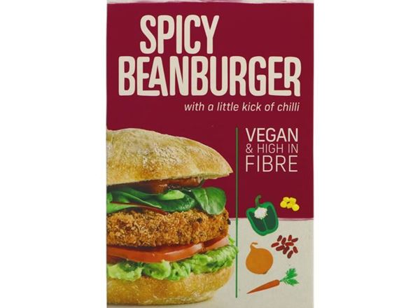 Burger, Spicy Bean: Vegan (Frozen)