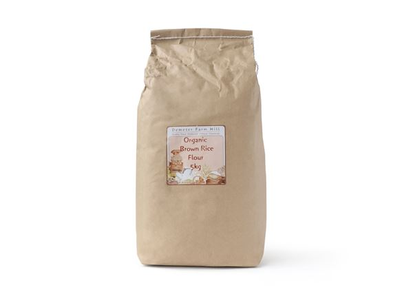 Flour Organic: Brown Rice - DM