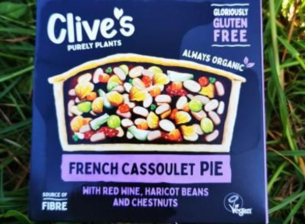 Clive's - French Cassoulet Pie Organic