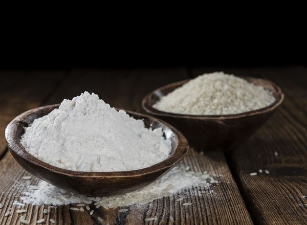 Organic Flour: White Rice
