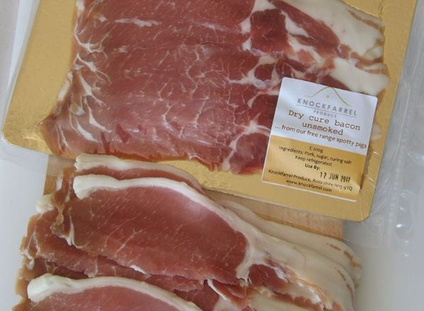 Bacon - Unsmoked  Dry-cure