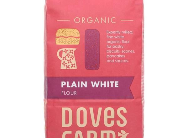 Flour Plain White: Organic (Doves Farm)