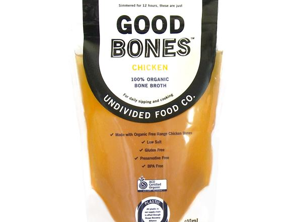 Broth Organic: GOOD Bones Chicken