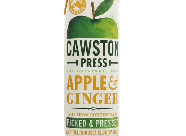Apple & Ginger Juice: Cawston Press