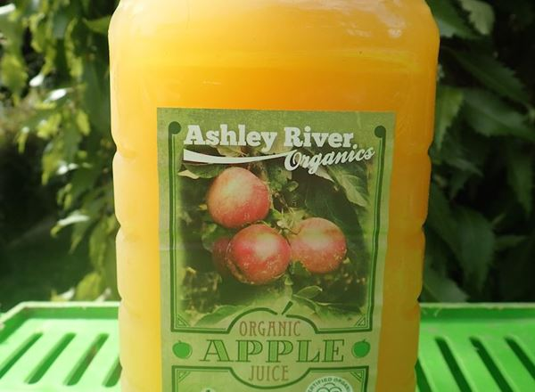 Ashley River Organics - Apple Juice