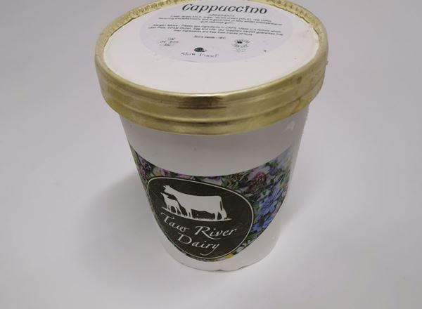 Taw River Dairy Luxury Ice Cream - Cappuccino