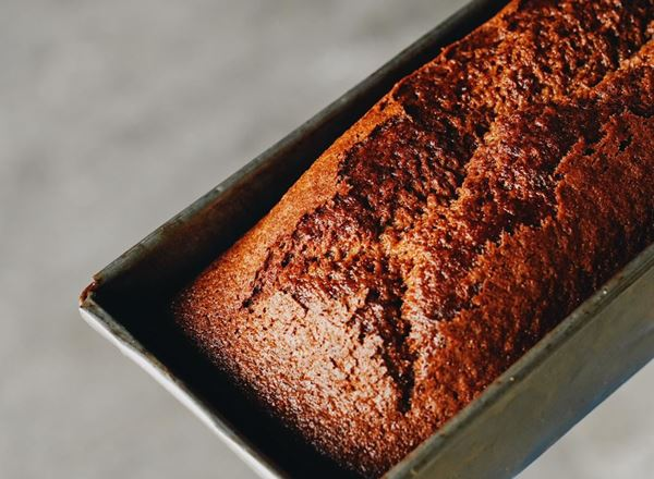 Banana Bread Natural: Loaf - BF