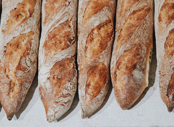 Bread Natural: Baguette: Long - BF