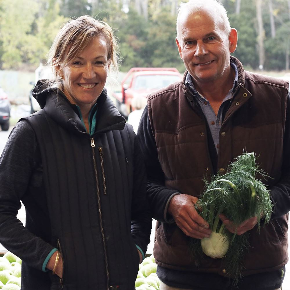 Lesley & Quentin from Kurrawong Organics
